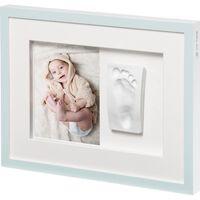 Baby Art Cadre de collage Tiny Style Blanc cristal