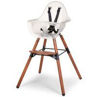 CHILDHOME Chaise haute avec pare-chocs 2-en-1 Evolu 2 Transparent