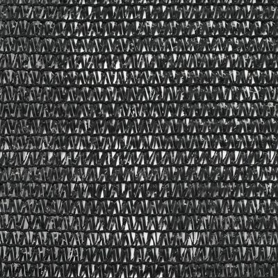 vidaXL Clôture de tennis PEHD 1 x 100 m Noir