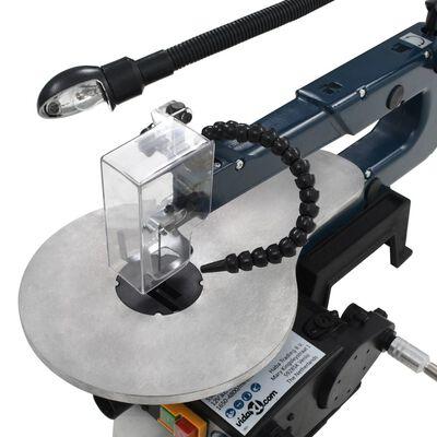 vidaXL Ensemble de scie à chantourner 108 pcs 125 W 252 mm