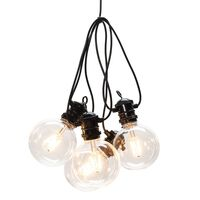 KONSTSMIDE Guirlande lumineuse avec 10 ampoules extra chaudes