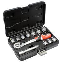 YATO Kit de clés à cliquet 12 pièces YT-38671