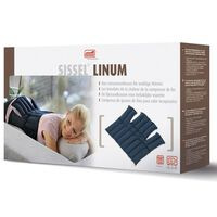Sissel Compresse chauffante Lin Linum 38 x 36 cm Bleu SIS-150.051