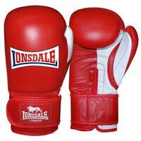 LONSDALE Gants d'entraînement Pro Safe Rouge 14 onces