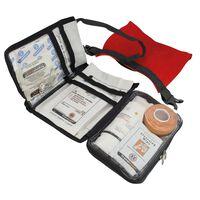 Travelsafe Trousse de premiers soins 43 pcs Globe Waterproof Rouge