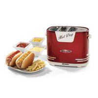 Ariete Appareil à hot-dog Party Time 650 W Rouge