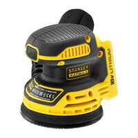 Stanley Ponceuse excentrique Stanley Fatmax FMCW220B 125 mm, 18V