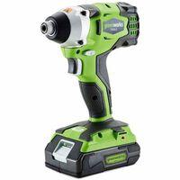 Greenworks Clé à chocs sans balai sans batterie GD24ID 1/4 po 3801407