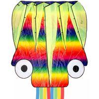 Dragon Fly Cerf-volant pieuvre 124x127 cm Multicolore