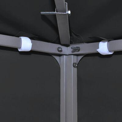vidaXL Toile supérieure de belvédère 310 g / m² 4 x 3 m Gris