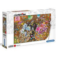 Clementoni Puzzle Mordillo The Kiss 6000 pcs
