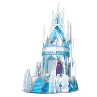 Frozen 2 Puzzle 3D Ice Palace 47 pcs Bleu translucide