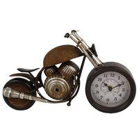 Gifts Amsterdam Horloge de bureau Motor Métal Marron 35x13x17,5 cm