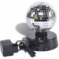 Boule à facettes rotative Party Fun Lights