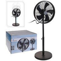 Excellent Electrics Ventilateur sur pied 50 W 40 cm Noir