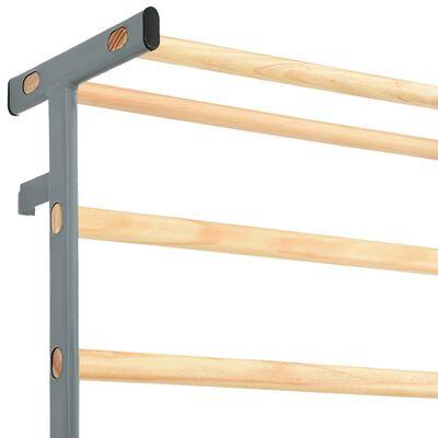 vidaXL Support d'escalade gymnastique Intérieur Extérieur 90x30x236 cm