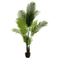 lot de 2 palmiers artificiels en Polyéthylène et ciment