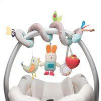 Taf Toys Jouet d'activité de siège de voiture Garden Spiral 12105