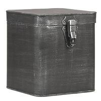 LABEL51 Boîte de rangement 18x19x21 cm XL Noir antique