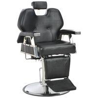 vidaXL Chaise de barbier Noir 72x68x98 cm Similicuir