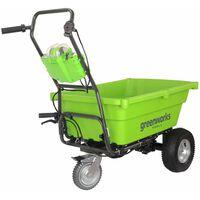Greenworks Chariot de jardin autopropulsé sans pile 40 V G40GC 7400007