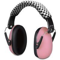 Alecto Protection auditive BV-71RE pour bébés et enfants Rose et noir