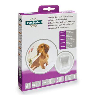 PetSafe Porte à 2 voies pour chiens 715 Petit 17,8 x 15,2 cm Blanc