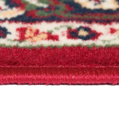 vidaXL Tapis oriental 140x200 cm Rouge / Beige