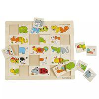 Beleduc Puzzle Animals Match & Mix 11006