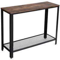 Table Console Madison Bois Métal H80cm