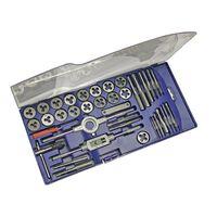 OUTIFRANCE - Coffret plastique de tarauds et filières 39 pièces
