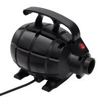 vidaXL Pompe à air électrique Noir