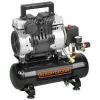 BLACK+DECKER Compresseur à air silencieux 6 L 230 V