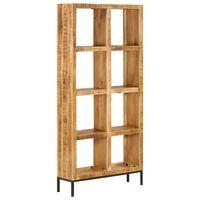 vidaXL Bibliothèque 80x25x175 cm Bois de manguier solide