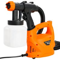 vidaXL Pistolet à peinture électrique avec tuyau d'air 500 W 800 ml