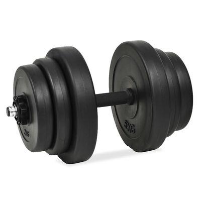 vidaXL Ensemble d'haltères 18 pcs 40 kg
