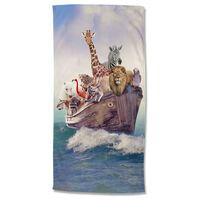 Good Morning Serviette de plage NOAH 75x150 cm Multicolore