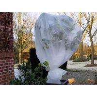 Nature Couverture polaire d'hiver 30 g/m² Blanc 1x10 m