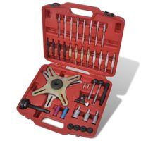 vidaXL Kit d'outils de réglage d'alignement d'embrayage 38 pcs