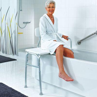 RIDDER Banc de transfert pour baignoire blanc 150 kg A0120101