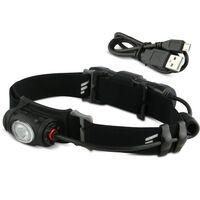 FAVOUR Lampe frontale PROTECH Noir H0917