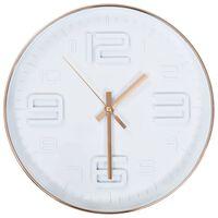 vidaXL Horloge murale avec aspect de cuivre 30,5 cm