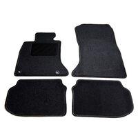 vidaXL Ensemble de tapis de voiture 4 pcs pour série 5 BMW F10/F11