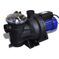vidaXL Pompe électrique de piscine 800 W Bleu