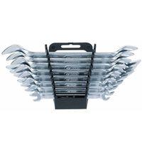 KS Tools Jeu de clés double à extrémité ouverte CLASSIC 8 pcs 517.0148