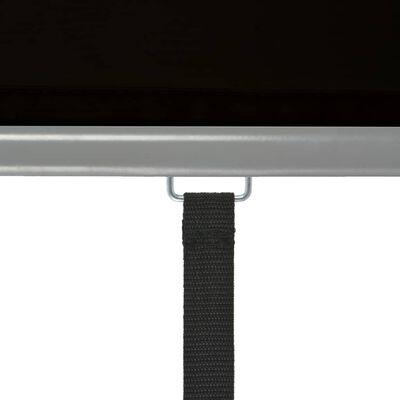 vidaXL Auvent latéral de balcon multifonctionnel 180 x 200 cm Noir