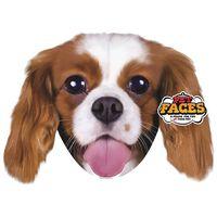 Pet Faces Oreiller Visage d'animal de compagnie Rois Charles