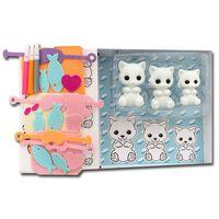 Fuzzikins Kit de bricolage et de jeu Chats