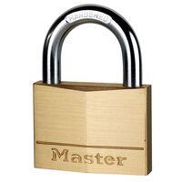 Master Lock Cadenas en laiton massif 70 mm 170EURD