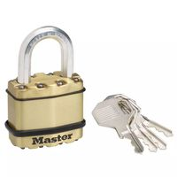 Master Lock Cadenas en acier 45 mm M1BEURD